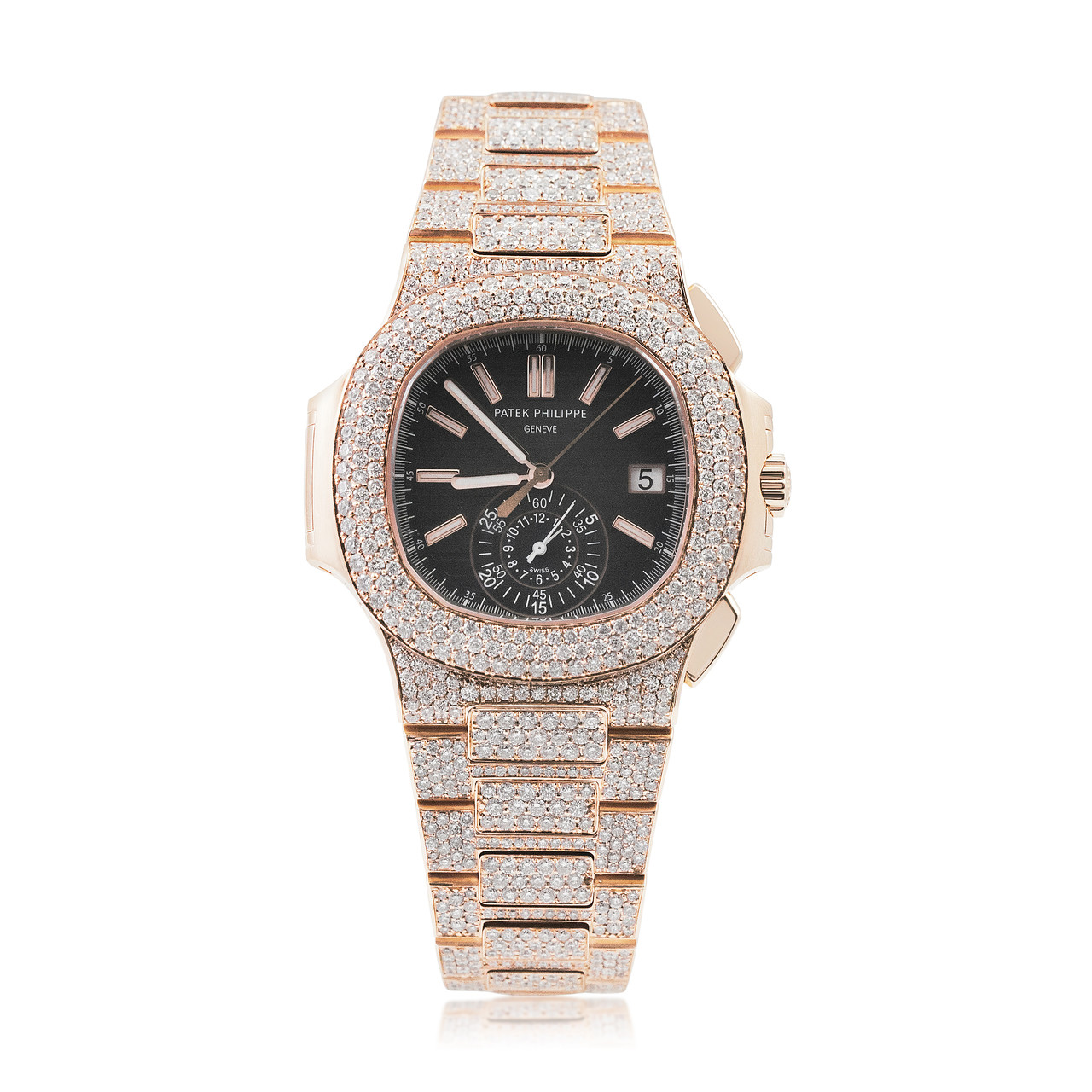 Diamond Encrusted Watch Bands
