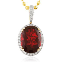 Mens jewelry pendants gemstone page 1 shyne jewelers 10k yellow gold 115ct diamond oval ruby pendant mozeypictures Choice Image