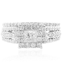 14K White Gold 1.45ct Engagement Ring