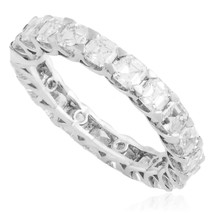 18k White Gold 4.41ct Diamond Eternity Band