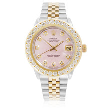 Rolex DateJust 4ct Diamond Automatic Women's Watch