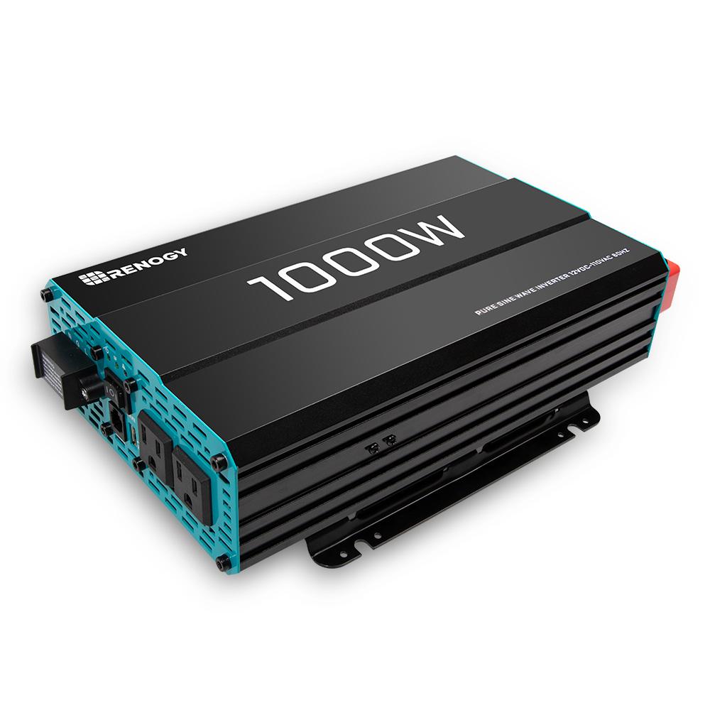 RENOGY 1000W 正弦波インバーター1000W 12V AC100V
