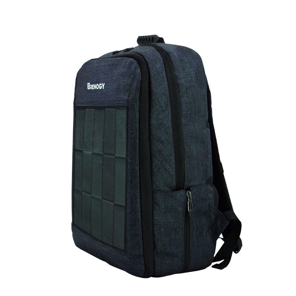 Solar Panel Powered Backpack