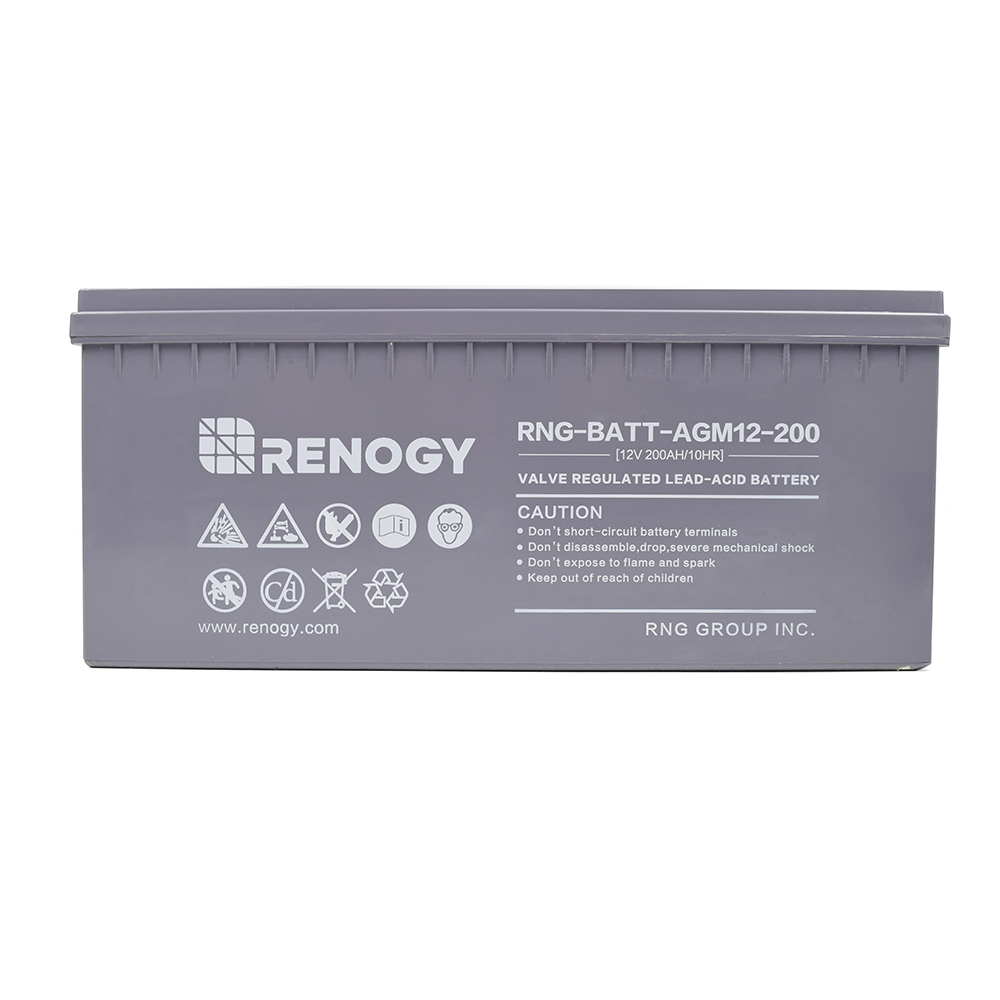 Deep Cycle AGM Battery 12V 200Ah