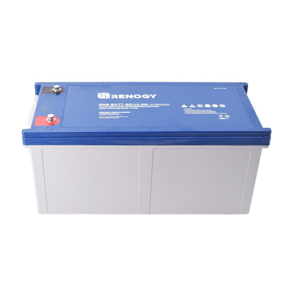 Deep Cycle Pure GEL Battery 12V 200Ah