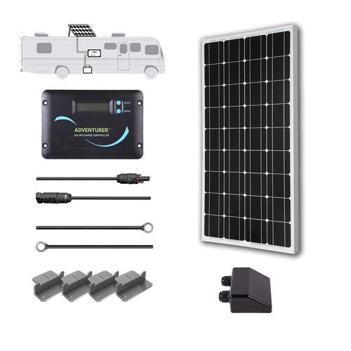 Renogy Eclipse 100w 100 Watts Mono Solar Panel 12v Volt