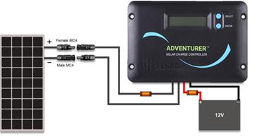 system setup rh renogy com renogy solar wiring diagram