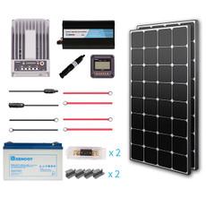 Renogy 200 Watt 12 Volt Premium Solar Complete Kit  (Back Order)