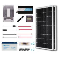 Renogy 200 Watt 12 Volt Premium Solar Complete Kit