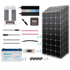 Renogy 500 Watt 12 Volt Premium Solar Complete Kit