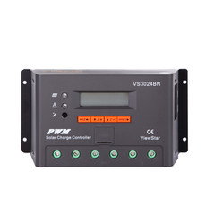 Renogy ViewStar 30 Amp PWM Solar Charge Controller with LCD Display