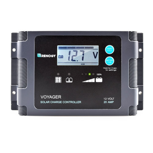 Renogy Voyager 20a Pwm Charge Controller W Lcd Display