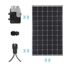 Renogy 2.4KW Grid-Tied Monocrystalline Solar Kit