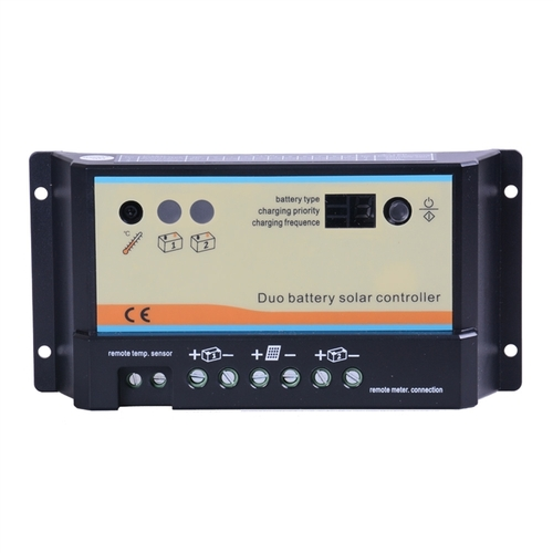 Renogy 10 Amp PWM Duo Battery Solar Charge Controller