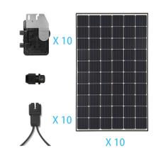 Renogy 3KW Grid-Tied Monocrystalline Solar Kit