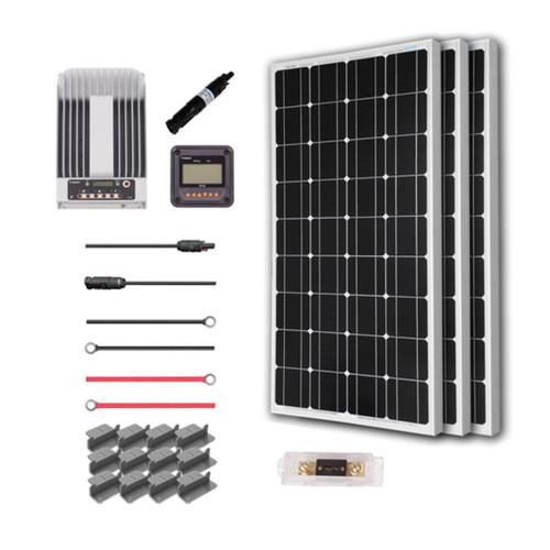 300 Watt 12 Volt Eclipse Solar Premium Kit