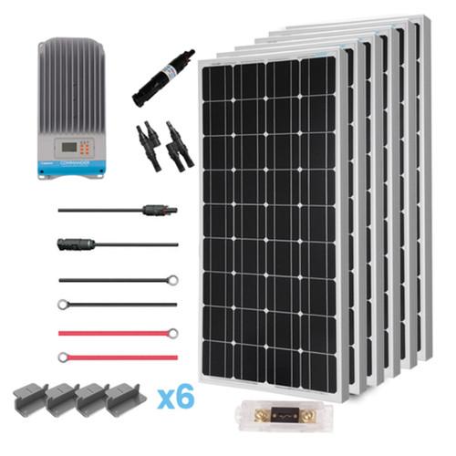 600 Watt 12 Volt Eclipse Solar Premium Kit