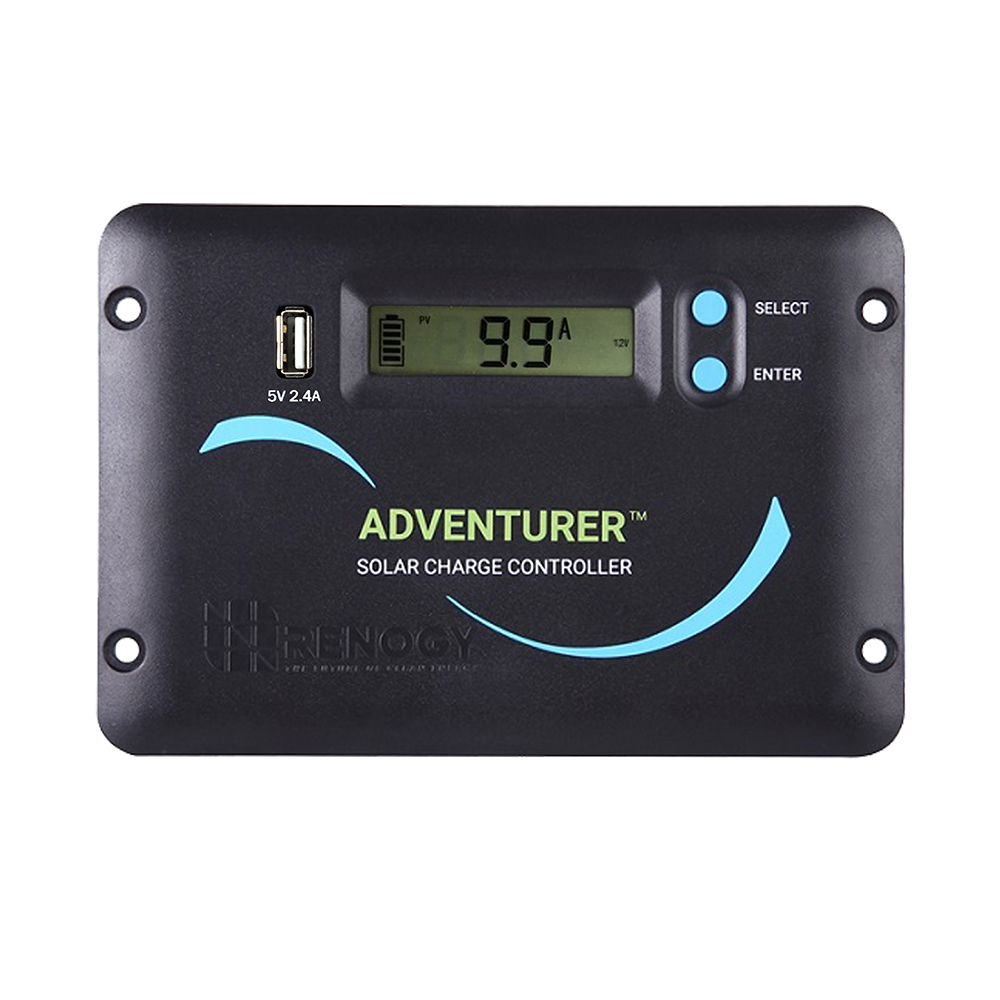 ADV LI renogy adventurer li 30a pwm charge controller w lcd display