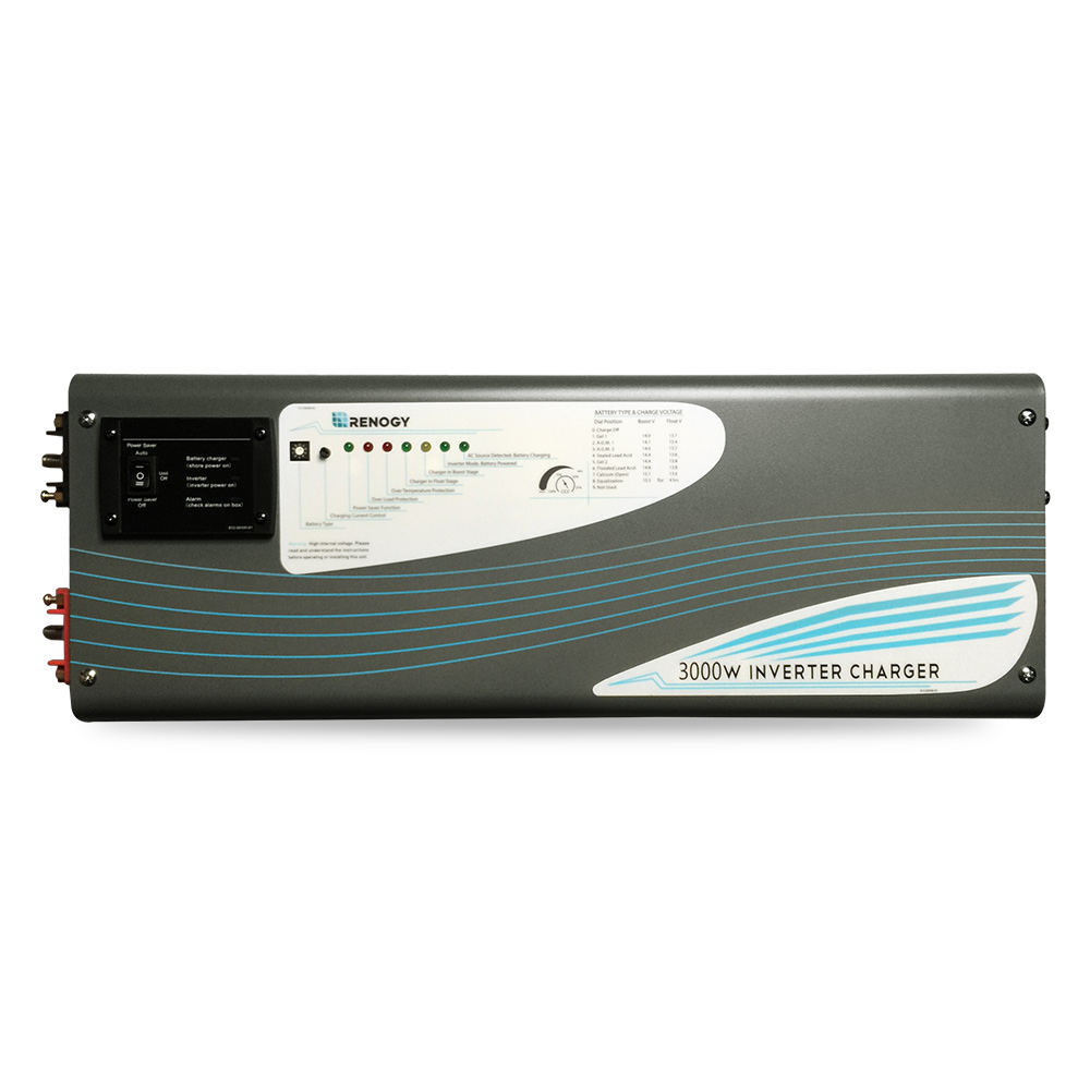 3000w Pure Sine Wave Inverter Charger Renogy Solar Circuit Diagram In Addition