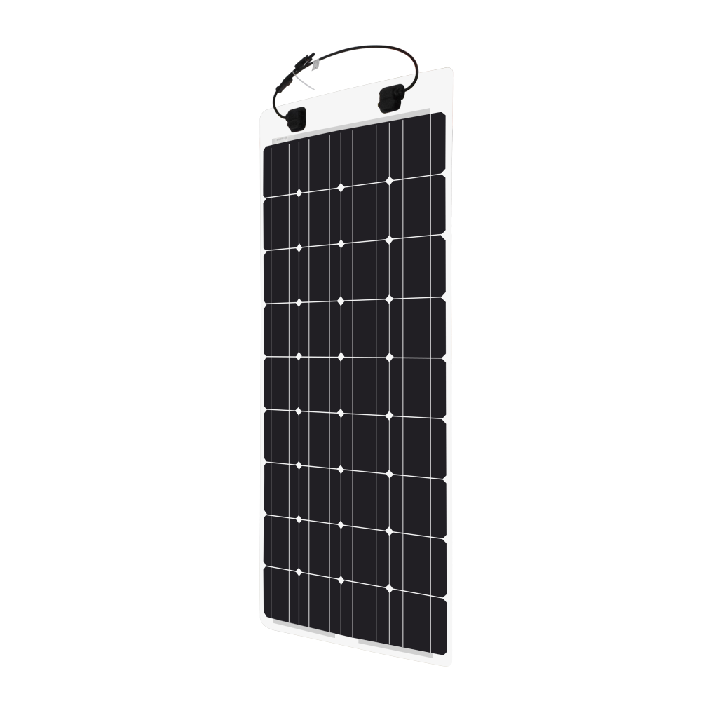 100 Watt 12 Volt Monocrystalline Solar Marine Kit Renogy Simple Camper Wiring Diagram 100w Flexible Panel