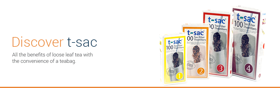 Discover t-sacs, all the benefits of loose leaf tea with the convenience of a tea bag.
