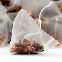 Orange & Apple Fruit Tea Pyramid Teabags