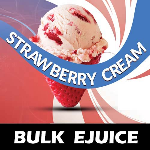 Strawberry Cream bulk Vape Juice