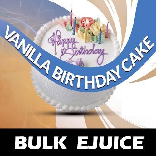 Vanilla Birthday Cake Vape Juice