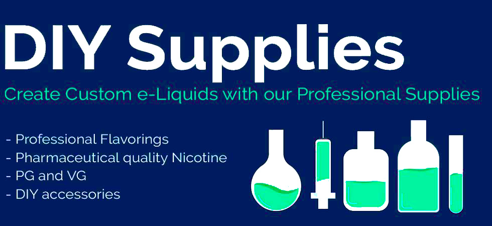 DIY Vape Supplies - Mix E-Liquid Flavors