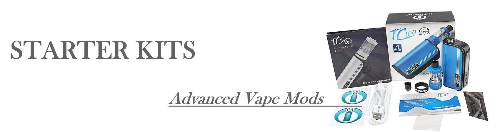 Advanced Ecig Starter Kit Vape Mods