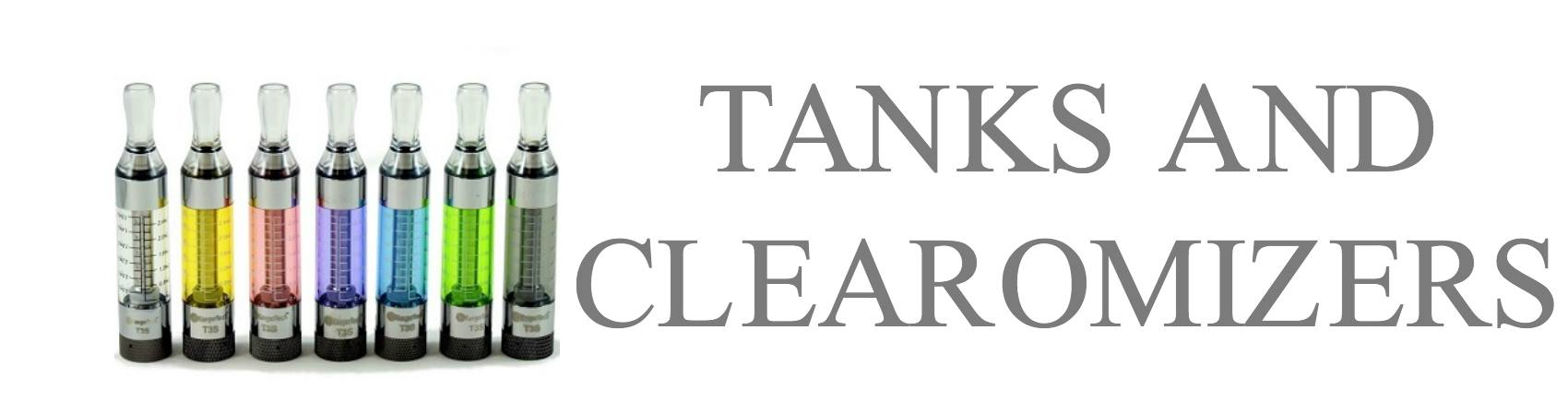 Clearmoizers and Ecig Vape Tanks
