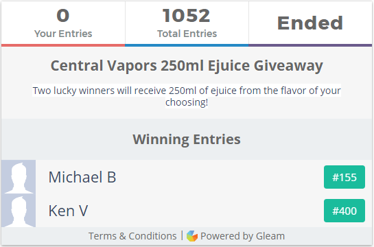 Vape for Free - Get free ejuice