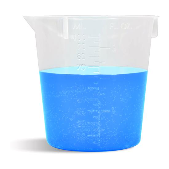 Plastic e-juice beaker
