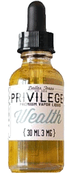 Premium Ejuice Wealth Eliquid Flavor