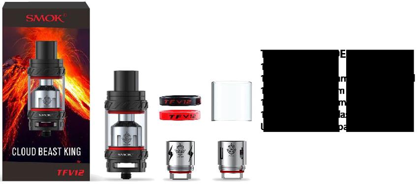 SMOK TFV12 Sub-Ohm Tank Kit