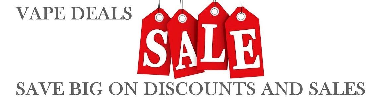 Cheap Vape Deals & Best Discounted Ecigs and Vape Accessories