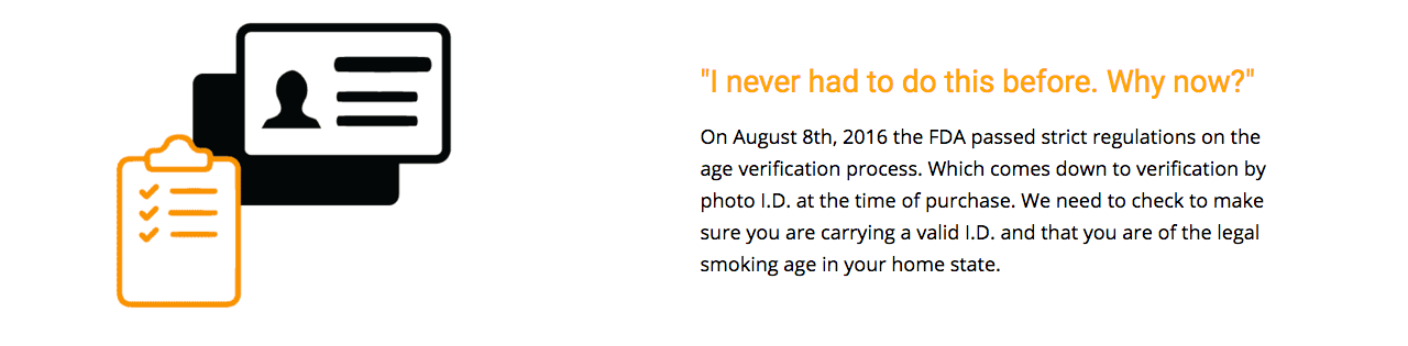 Age Verify Ninja to Buy Ejuice Online