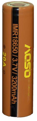 Aosibo 18650 3.7V -  20A 3200mAh