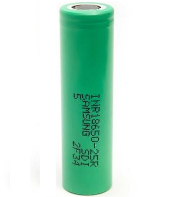 Samsung INR18650-25R 2500mAh - 20A Battery