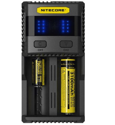 Nitecore SC2 Battery Charger Superb Charger