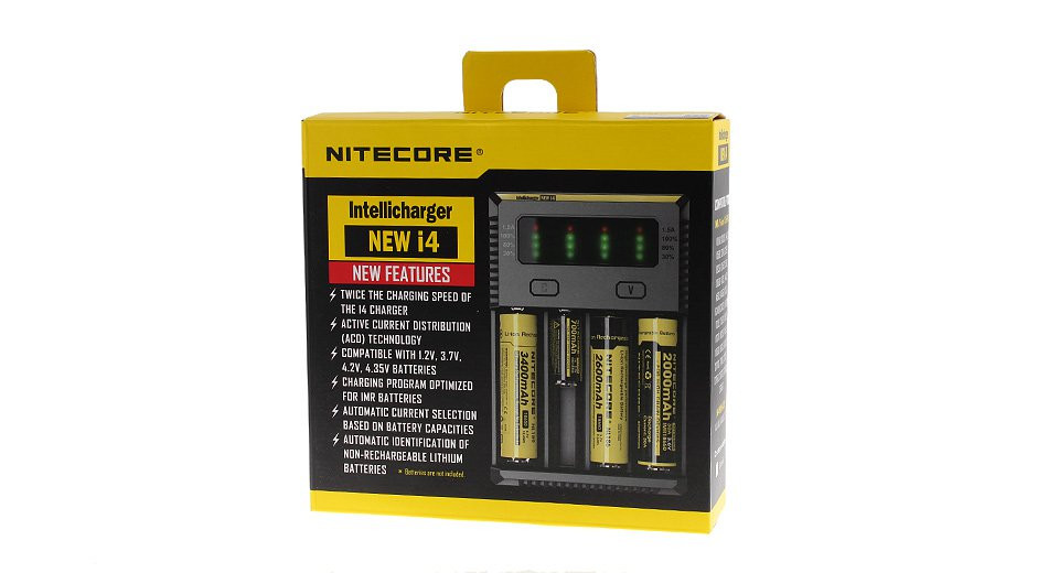 nitecore intellicharger new i4 manual
