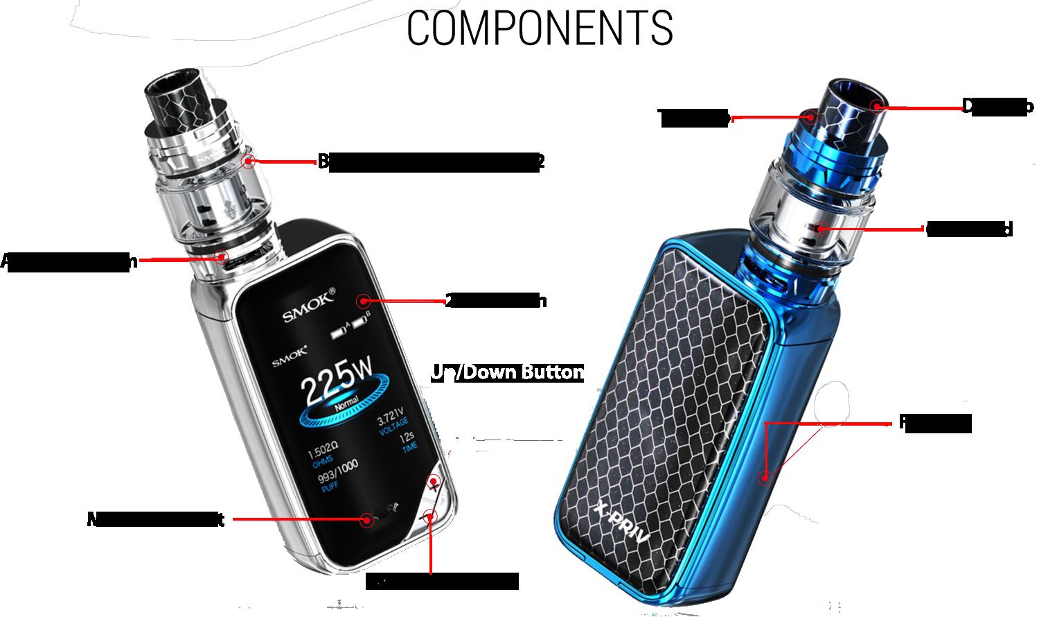 SMOK X-Priv 225W Vape Kit