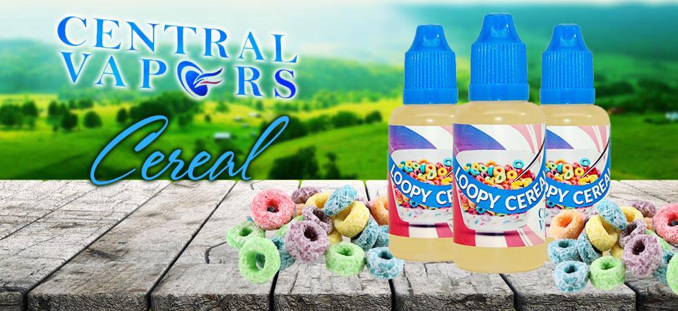 Vape Juice Cereal Flavors