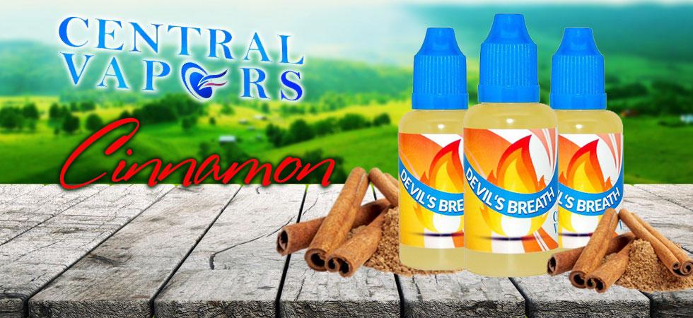 Vape Juice Cinnamon Flavors