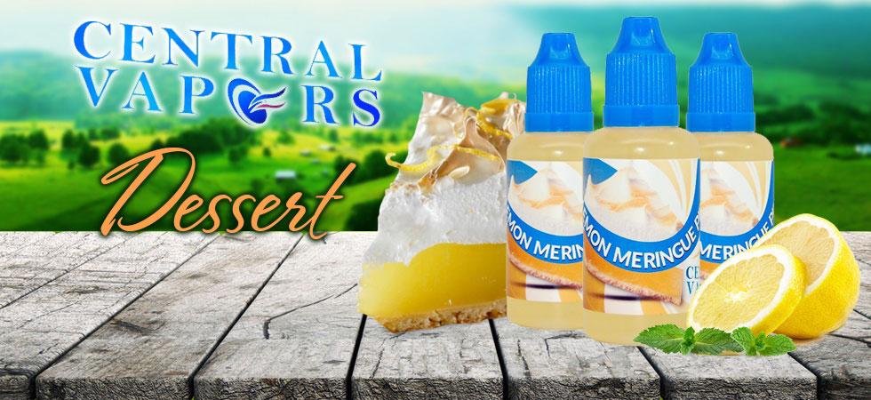 Best Dessert EJuice & Vape Juice Flavors | Central Vapors