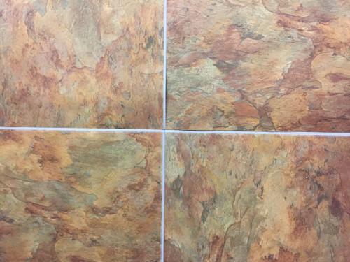 Novalis Providence SS Copper Slate X - 18 inch slate tile