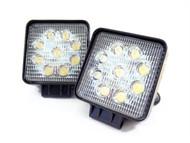 27W Equinox Square LED Work Light Lamp Off Road High Power 30 Degree Spot Light