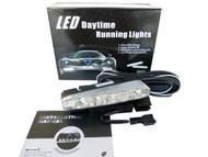 Pair of Equinox 5 CREE LED High Power 5W Daytime Running Lights DRL Fog