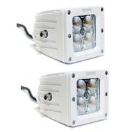 2 x Equinox 20W LED Light Fog Off Road Dually (White)