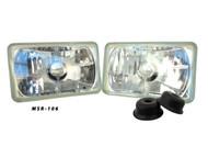 Pair of Equinox 4x6 Non-Sealed Headlights (H4651 H4652 H4656 H4666)